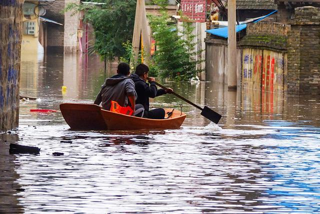 世界观:山西暴雨水灾中互联网的传承力